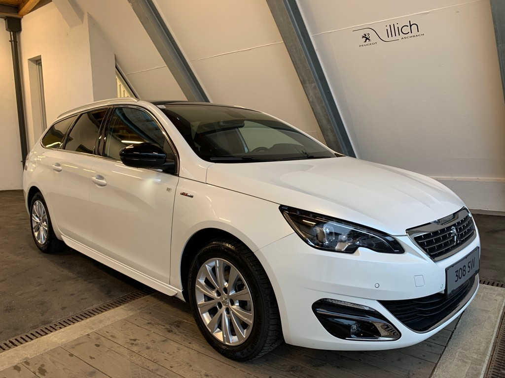 Peugeot 308SW GT-LINE PT130AT Panoramaglasdach