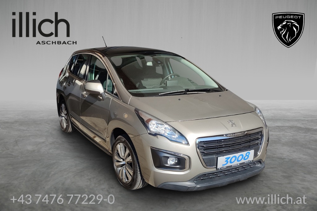 Peugeot 3008 1,6 e-HDi 115 FAP ASG6 Professional Line